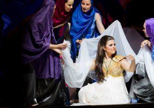 La Conquista di Granata (Arrieta), Rolle: Zulema, Stadttheater Gießen, Fotograf: Rolf Wegst